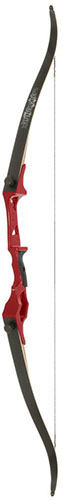 Fin Finder Bank Runner Recurve Red 58 in. 20 lbs RH