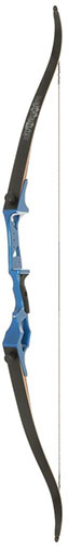 Fin Finder Bank Runner Recurve Blue 58 in. 20 lbs RH