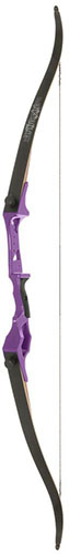 Fin Finder Bank Runner Recurve Purple 58 in. 20 lbs RH
