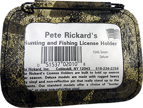 Hunting License Holder Camo 154G
