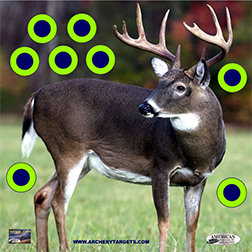 Tough Target Face Deer 18x18