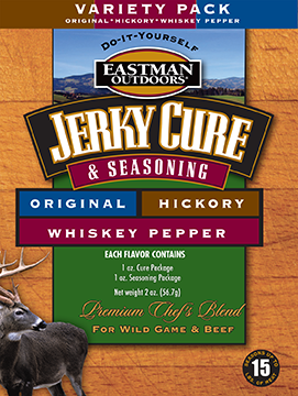 Eastman Outdoors Jerky Seasoning Variety Pack