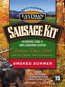 Eastman Outdoors Summer Sausage Kit makes 15 lbs.
