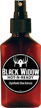 Black Widow Hot-N-Ready Synthetic Doe Estrus 3 oz.