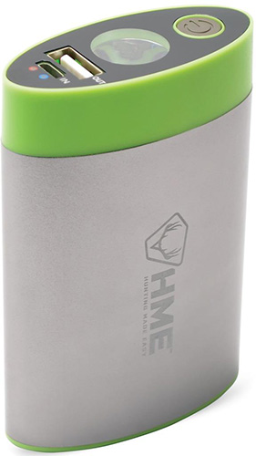 * HME Hand Warmer w/Built in Flashlight/Charge Bank