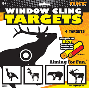 NXT Generation Window Cling Target Animal