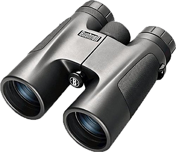 Bushnell Powerview Roof Prism Binoculars Black 10x50