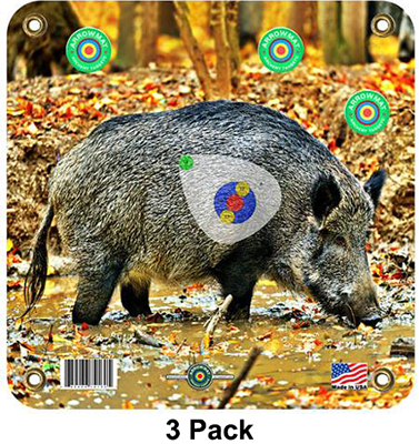 Arrow Mat Hog Target 17x17