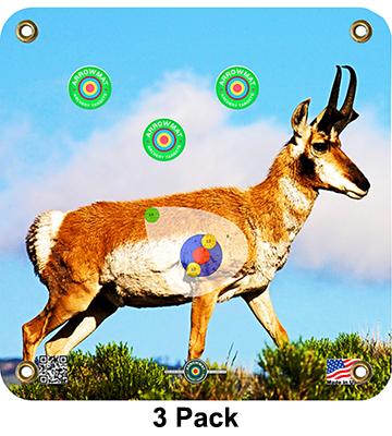 Arrow Mat Antelope Target 17x17