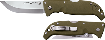 Cold Steel Finn Wolf Folding Knife OD Green