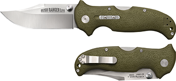 Cold Steel Bush Ranger Lite Folding Knife OD Green