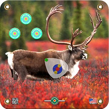 Arrow Mat Caribou Target 17x17