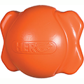 Hero Signature Soft Rubber Bone Ball Hunter Orange Medium