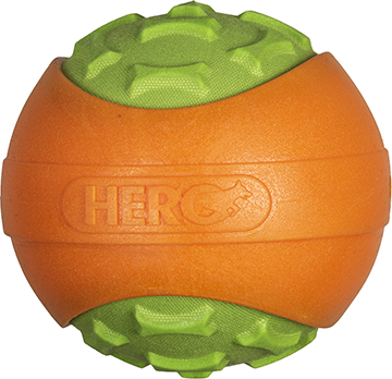 Hero Outer Armor Ball Orange/Lime Small