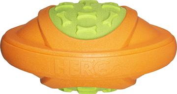 Hero Outer Armor Football Orange/Lime Large