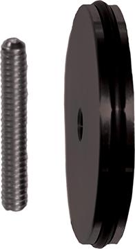 Dead Center Custom Balance XL Weight Black 5/16-24 Thread 3oz