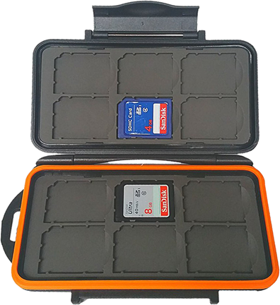 Boneview 12 SD Card Case