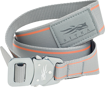 Sitka Bomber Belt Woodsmoke Large