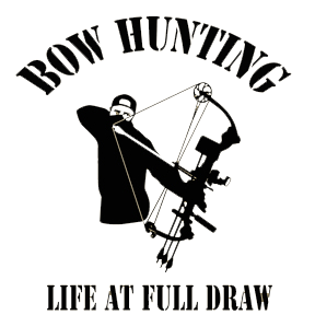 Bowhunter Full Draw Decal 6x6