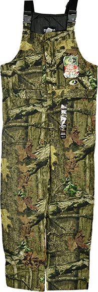 Mens Insulated Bibs Mossy Oak Country Large