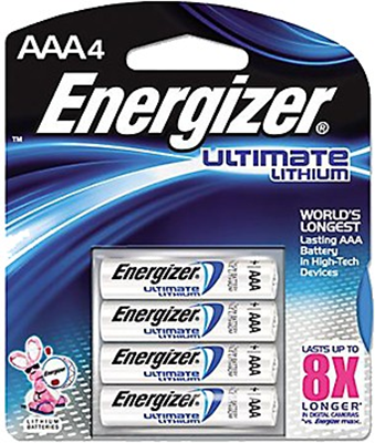 "Energizer Ultimate Lithium ""AAA"" Battery"