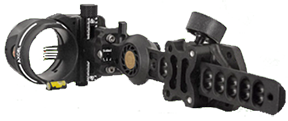 Armortech HD Pro 5 Pin Sight .010 Black