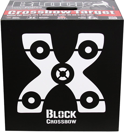 Block Black Crossbow Target 16
