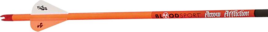 Arrow Affliction 350 Arrows w/Vanes w/Insert