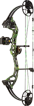 Bear Archery Cruzer Lite RTH Package Moonshine Toxic LH