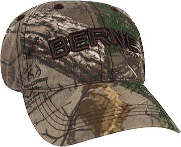 Berne Logo Cabin Hat Realtree Xtra Camo