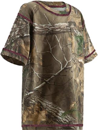 Berne Ladies Aspen Short Sleeve T-Shirt Realtree Xtra Camo M