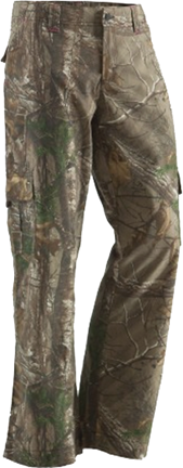 Berne Ladies Field Pant Realtree Xtra Camo Size 8