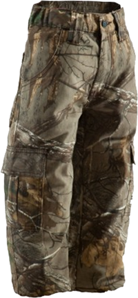 Berne Youth Field Pant Realtree Xtra Camo Large