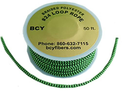 D-Loop Rope #24 1 Meter Green/Black