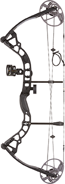 Diamond Atomic Bow Package Black 12-24 in. 29 lb. RH