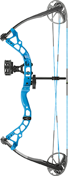 Diamond Atomic Bow Package Electric Blue 12-24in. 29lb RH