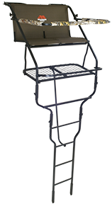 *DS* Double Ladder Stand 18 2 Boxes