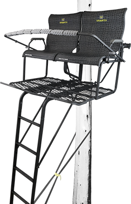 *DS* 18 Sasquatch 2 Man Ladder Stand