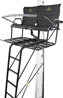 *DS* 18 Sasquatch 2 Man Ladder Stand