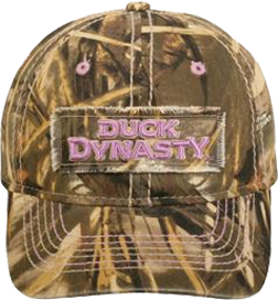 Duck Dynasty Ladies Heavily Washed Low Profile Hat