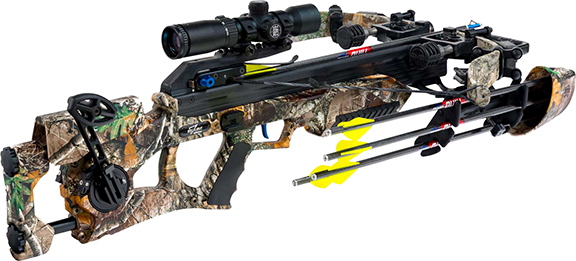 Assassin 360 Realtree Edge Crossbow Pkg-Tactzone LSP