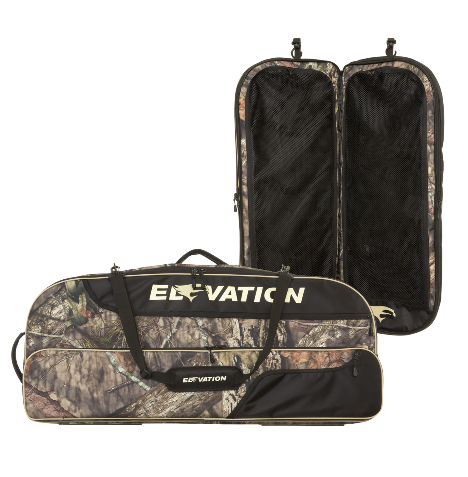 "Elevation HUNT Suspense Bowcase 44""Black/Mossy Oak Country Camo"