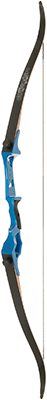Fin-Finder Bankrunner Recurve Winch Pro Package Blue 35# RH