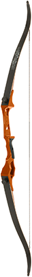 Fin-Finder Bankrunner Recurve Winch Pro Package Orange 35# RH