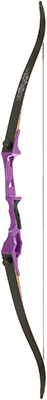 Fin-Finder Bankrunner Recurve Winch Pro Package Purple 35# RH