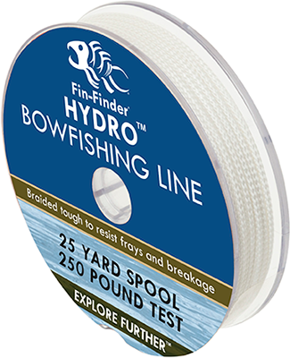 Fin-Finder Hydro Bowfishing Line 25yds 250lbs