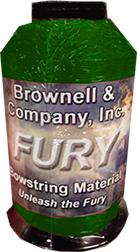Fury Bowstring Material Hunter Green 1/4lb