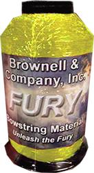 Fury Bowstring Material Flo Yellow 1/4lb