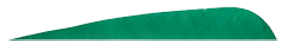 4 LW Gateway Feathers Green