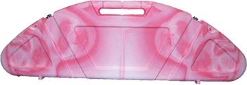 Genesis Hard Bow Case Pink Swirl